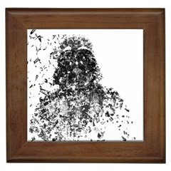 Darth Vader Framed Ceramic Tile