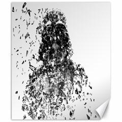 Darth Vader Canvas 8  x 10  (Unframed)