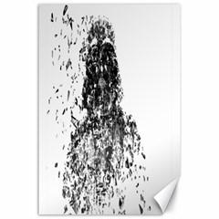 Darth Vader Canvas 24  X 36  (unframed)
