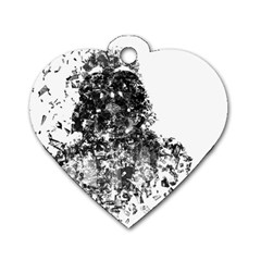 Darth Vader Dog Tag Heart (two Sided)