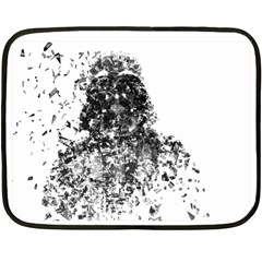 Darth Vader Mini Fleece Blanket (two Sided)