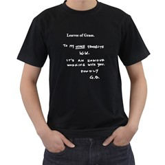 Leaves of Grass Walter White Men s T-shirt (Black)