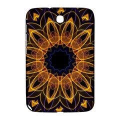 Yellow Purple Lotus Mandala Samsung Galaxy Note 8.0 N5100 Hardshell Case