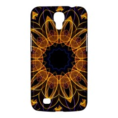 Yellow Purple Lotus Mandala Samsung Galaxy Mega 6.3  I9200 Hardshell Case