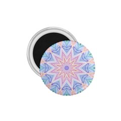 Soft Rainbow Star Mandala 1.75  Button Magnet
