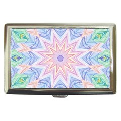 Soft Rainbow Star Mandala Cigarette Money Case