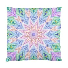Soft Rainbow Star Mandala Cushion Case (two Sided)