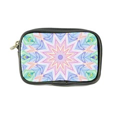 Soft Rainbow Star Mandala Coin Purse