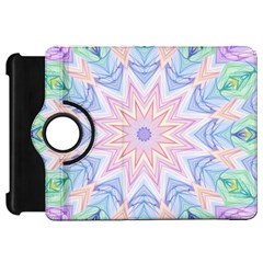 Soft Rainbow Star Mandala Kindle Fire HD 7  (1st Gen) Flip 360 Case