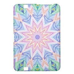 Soft Rainbow Star Mandala Kindle Fire Hd 8 9  Hardshell Case