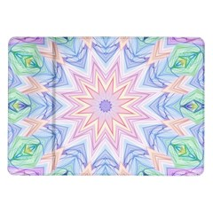 Soft Rainbow Star Mandala Samsung Galaxy Tab 10.1  P7500 Flip Case