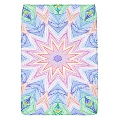 Soft Rainbow Star Mandala Removable Flap Cover (small)