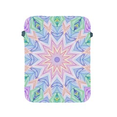 Soft Rainbow Star Mandala Apple iPad Protective Sleeve