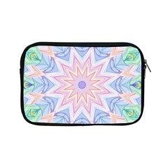 Soft Rainbow Star Mandala Apple iPad Mini Zippered Sleeve