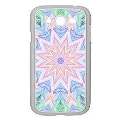 Soft Rainbow Star Mandala Samsung Galaxy Grand Duos I9082 Case (white)