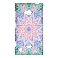 Soft Rainbow Star Mandala Nokia Lumia 720 Hardshell Case