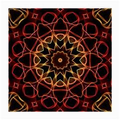 Yellow And Red Mandala Glasses Cloth (Medium)