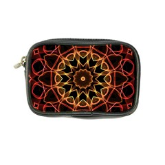Yellow And Red Mandala Coin Purse
