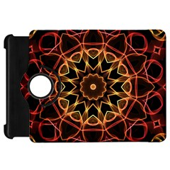 Yellow And Red Mandala Kindle Fire HD 7  (1st Gen) Flip 360 Case