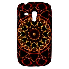Yellow And Red Mandala Samsung Galaxy S3 Mini I8190 Hardshell Case