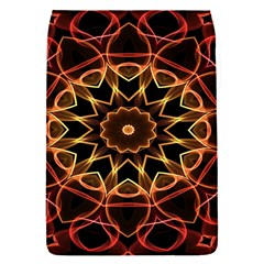 Yellow And Red Mandala Removable Flap Cover (Small)