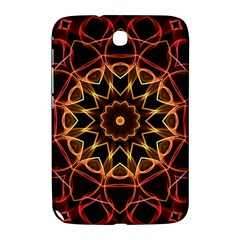Yellow And Red Mandala Samsung Galaxy Note 8.0 N5100 Hardshell Case