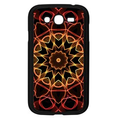 Yellow And Red Mandala Samsung Galaxy Grand Duos I9082 Case (black)