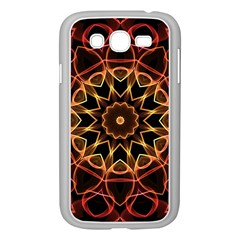 Yellow And Red Mandala Samsung Galaxy Grand Duos I9082 Case (white)
