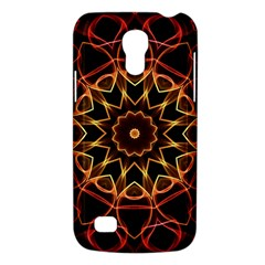 Yellow And Red Mandala Samsung Galaxy S4 Mini (GT-I9190) Hardshell Case