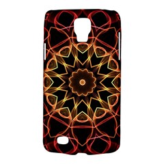 Yellow And Red Mandala Samsung Galaxy S4 Active (I9295) Hardshell Case