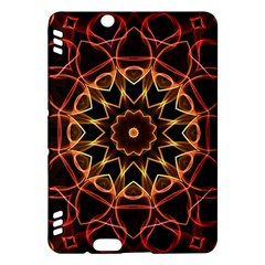 Yellow And Red Mandala Kindle Fire HDX 7  Hardshell Case