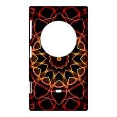 Yellow And Red Mandala Nokia Lumia 1020 Hardshell Case