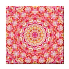 Yellow Pink Romance Ceramic Tile