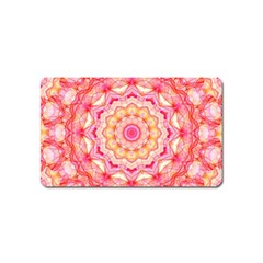 Yellow Pink Romance Magnet (Name Card)