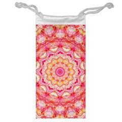 Yellow Pink Romance Jewelry Bag