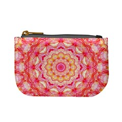 Yellow Pink Romance Coin Change Purse