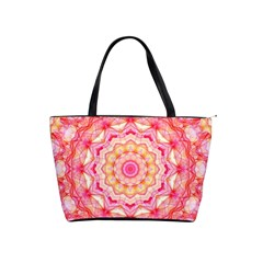 Yellow Pink Romance Large Shoulder Bag
