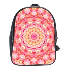 Yellow Pink Romance School Bag (Large)