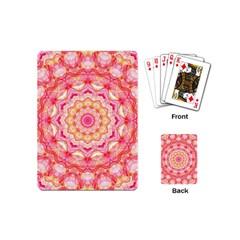 Yellow Pink Romance Playing Cards (mini)
