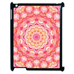 Yellow Pink Romance Apple iPad 2 Case (Black)