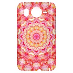 Yellow Pink Romance HTC Desire HD Hardshell Case