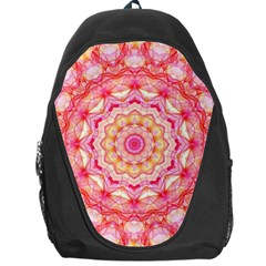 Yellow Pink Romance Backpack Bag