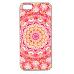 Yellow Pink Romance Apple Seamless Iphone 5 Case (clear)