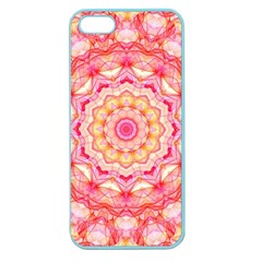 Yellow Pink Romance Apple Seamless iPhone 5 Case (Color)