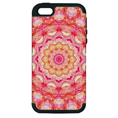 Yellow Pink Romance Apple Iphone 5 Hardshell Case (pc+silicone)