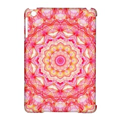 Yellow Pink Romance Apple Ipad Mini Hardshell Case (compatible With Smart Cover)