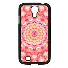 Yellow Pink Romance Samsung Galaxy S4 I9500/ I9505 Case (Black)