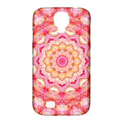 Yellow Pink Romance Samsung Galaxy S4 Classic Hardshell Case (PC+Silicone)