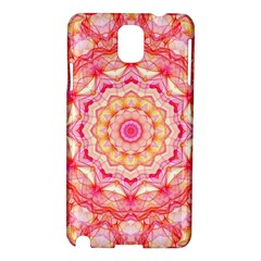 Yellow Pink Romance Samsung Galaxy Note 3 N9005 Hardshell Case