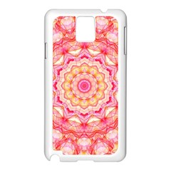 Yellow Pink Romance Samsung Galaxy Note 3 N9005 Case (White)